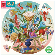 Crazy Bug Bouquet 500 Round Puzzle