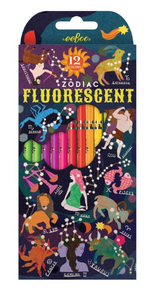 Zodiac Fluorescent Colored Pencils