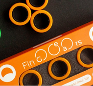FinGears Magnetic Rings Orange Size Small