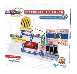 Snap Circuits: Strobe Light and Sound Kit