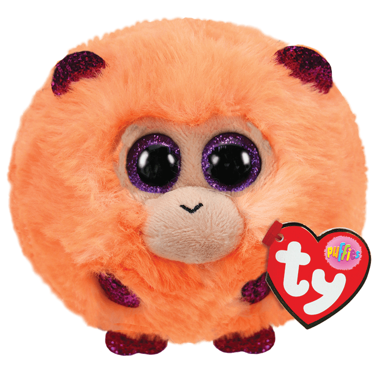 TY Puffies: Coconut the Monkey