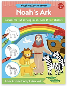 Watch Me Read and Draw: Noah's Ark