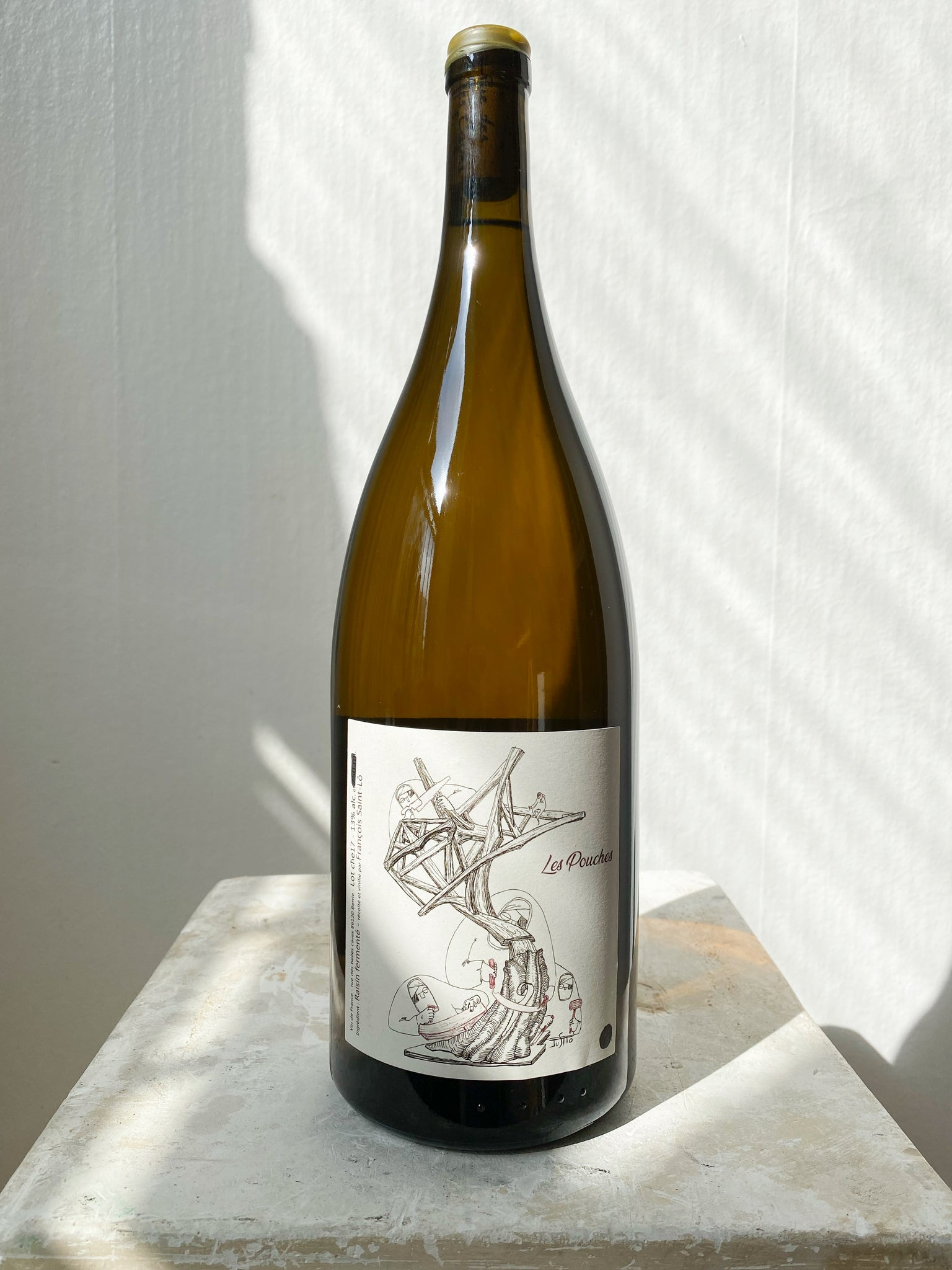 François Saint-Lô 'Les Pouches' 2017 MAGNUM BOTTLE
