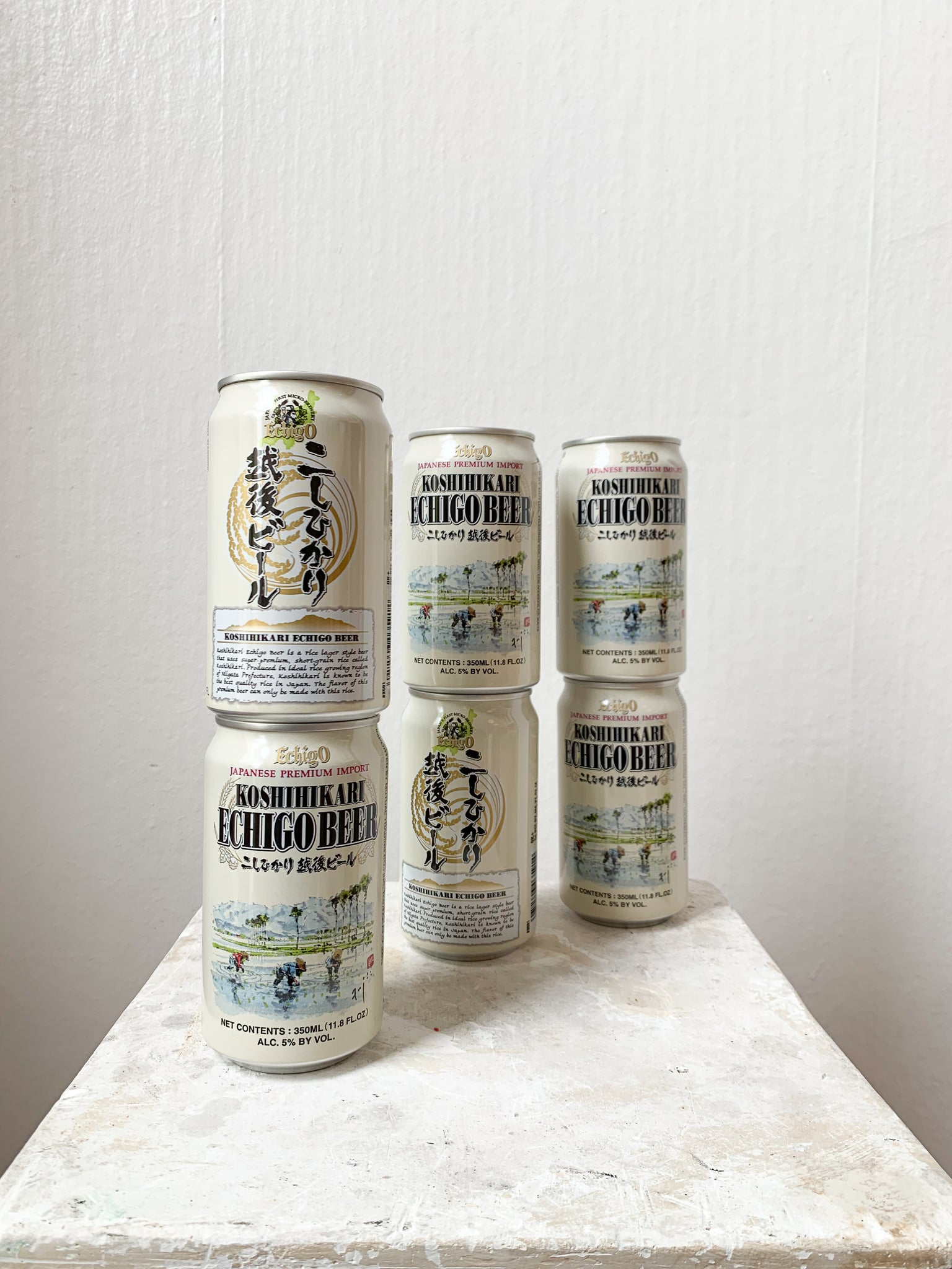 Single Can of Echigo Rice Beer