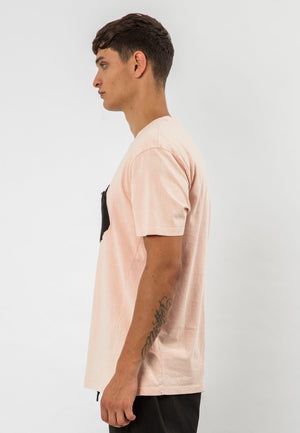 RELIGION DRAFT T-SHIRT PINK