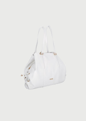 LIU JO SATCHEL off white AA1245