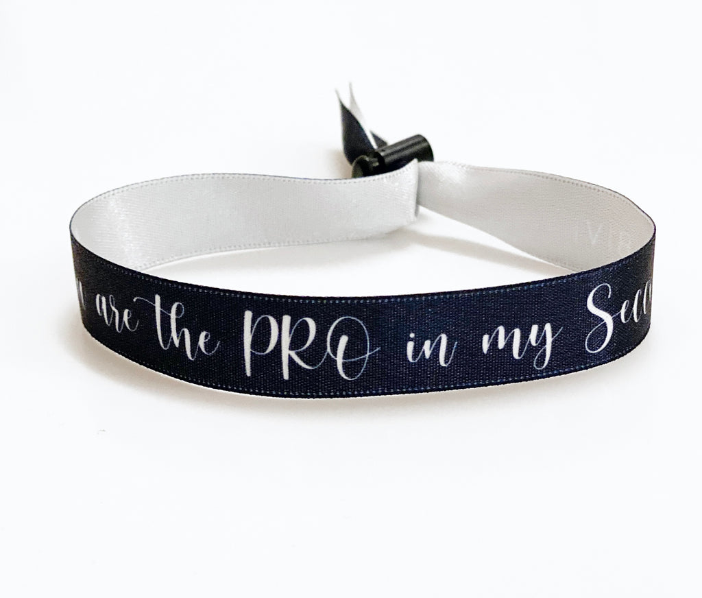 BIVI Freundschafts-Armband YOU ARE THE PRO IN MY SECCO