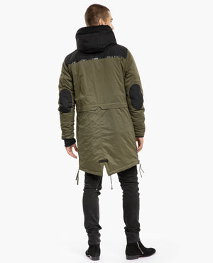 TIGHA Parka Owen military grün
