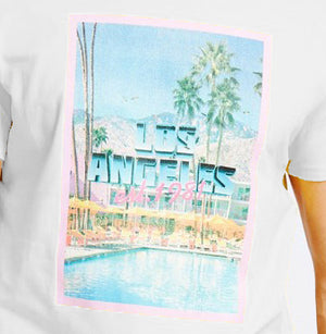 GUESS T-Shirt mit Print Pool Party