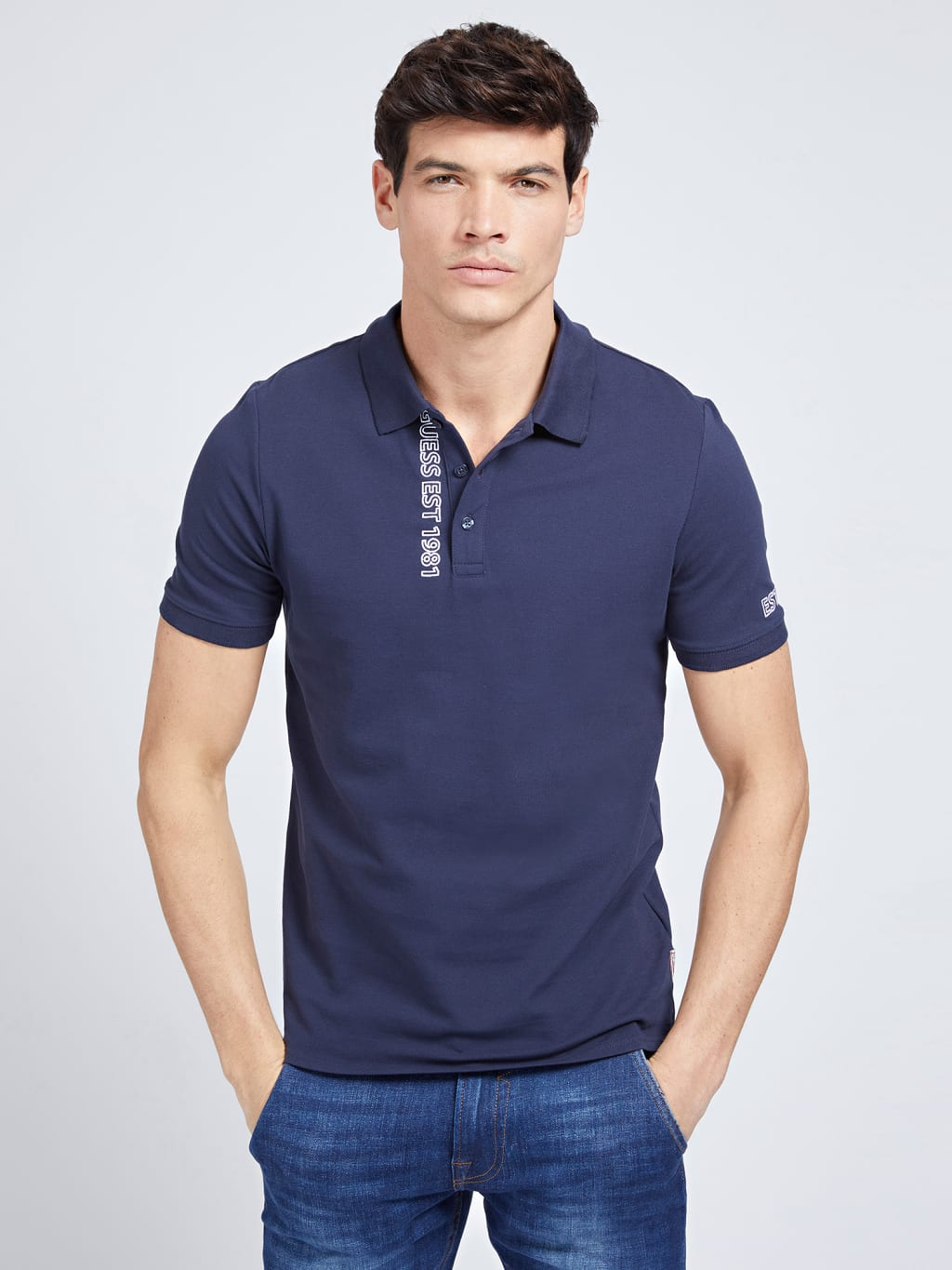 GUESS POLO LYLE dunkelblau