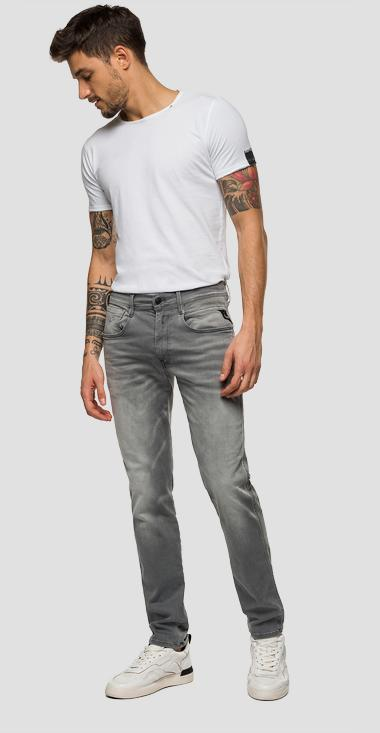 Replay Hyperflex Jeans grau