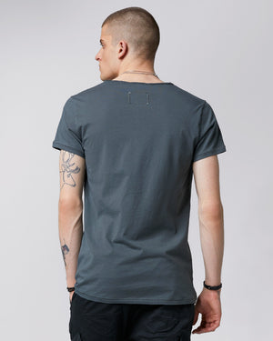 TIGHA T-Shirt MALIK asphalt