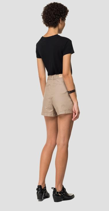 Replay COMFORT FIT SHORTS IN USED-OPTIK beige