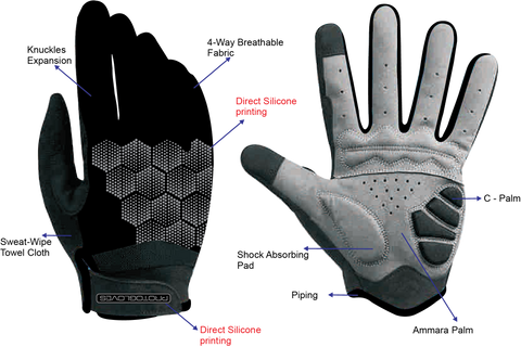 ProtoGloves Black/Grey