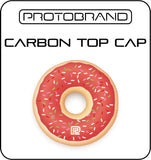 Donuts Red Top Cap