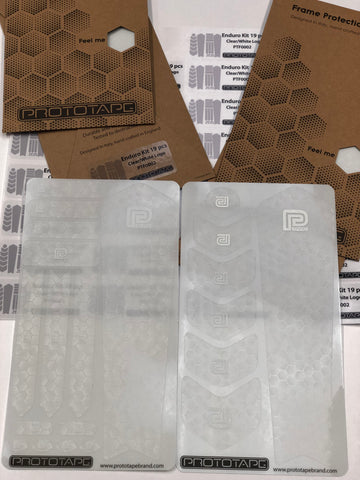 ProtoTape Enduro Kit Clear/WhiteLogo