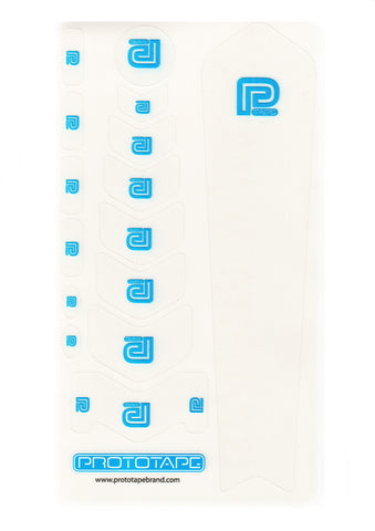 ProtoTape Regular Kit Clear/ Blue Logo