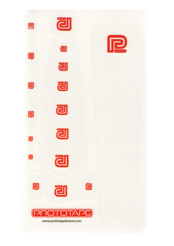 ProtoTape Regular Kit Clear/ Red Logo