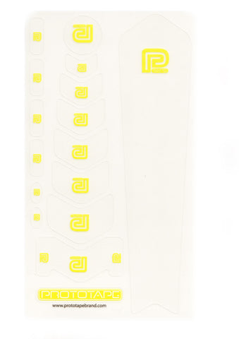 ProtoTape Regular Kit Clear/ Yellow Logo