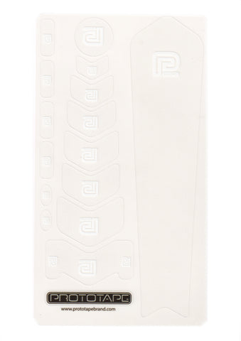 ProtoTape Regular Kit Clear/White Logo