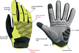 ProtoGloves Fluo Yellow