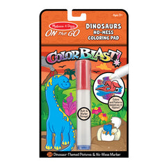 Melissa & Doug: On the Go: Colorblast: No-Mess Coloring Pad | Davis Cards & Games