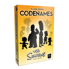 Codenames: The Simpsons | Davis Cards & Games