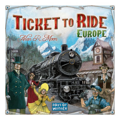 Ticket to Ride: Europe | Davis Cards & Games