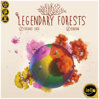 Legendary Forests | Davis Cards & Games