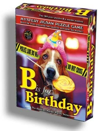 Mystery Jigsaw Puzzle Game: B is for Birthday | Davis Cards & Games