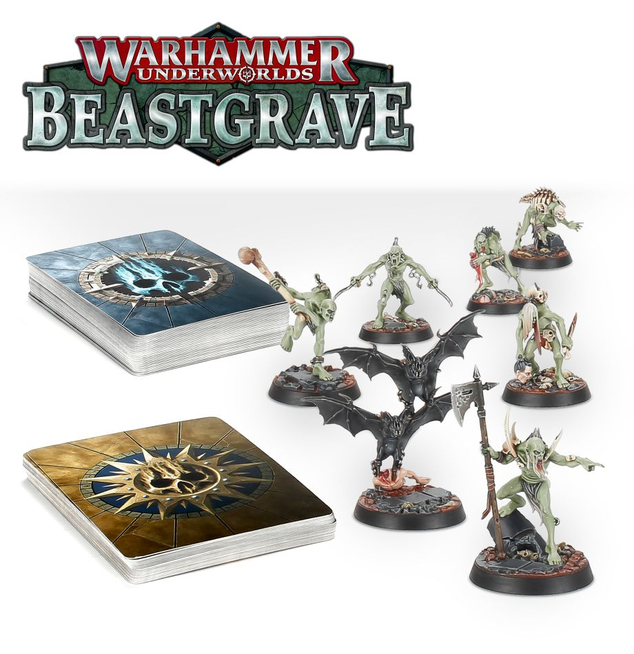 Warhammer Underworlds: Beastgrave – The Grymwatch | Davis Cards & Games