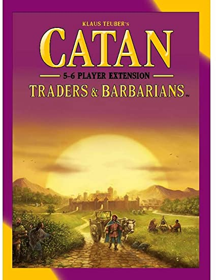 Catan: Traders & Barbarians 5-6 Player Extension | Davis Cards & Games