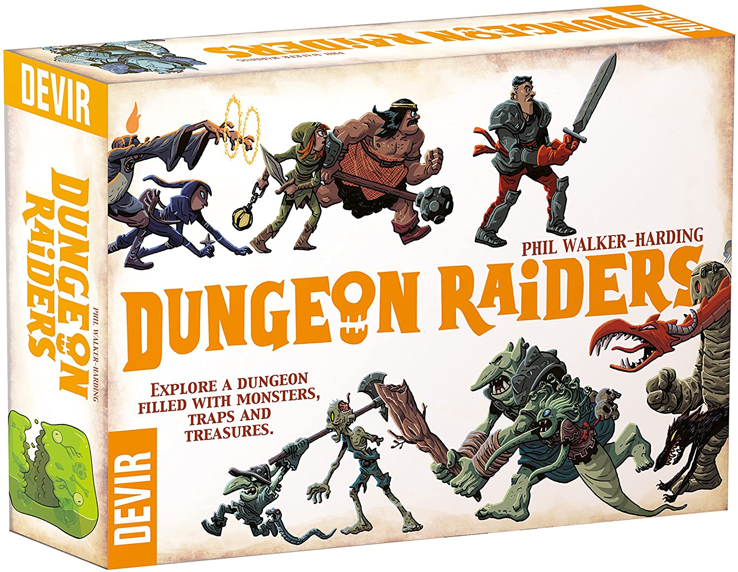 Dungeon Raiders | Davis Cards & Games