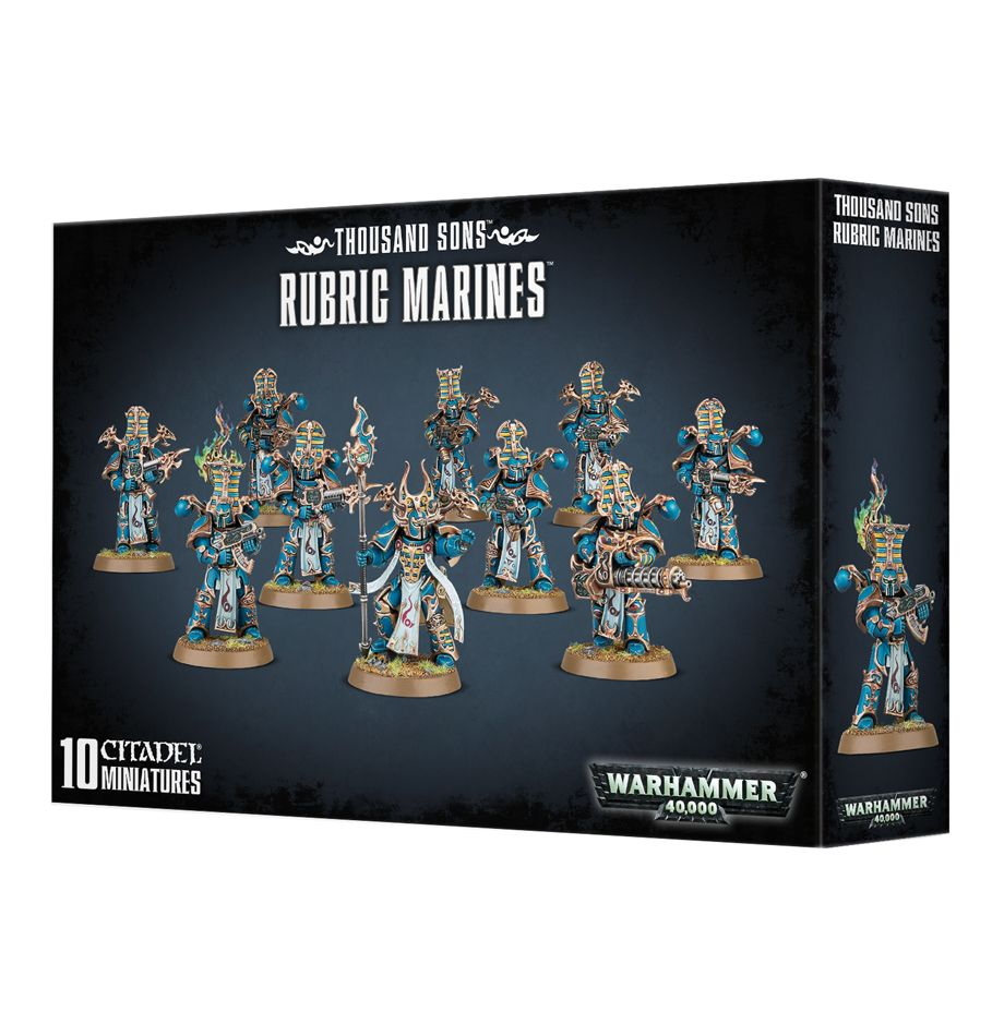 Thousand Sons: Rubric Marines | Davis Cards & Games