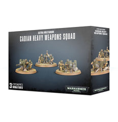 Astra Militarum: Cadian Heavy Weapon Squad | Davis Cards & Games