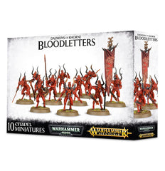 Daemons Of Khorne: Bloodletters | Davis Cards & Games