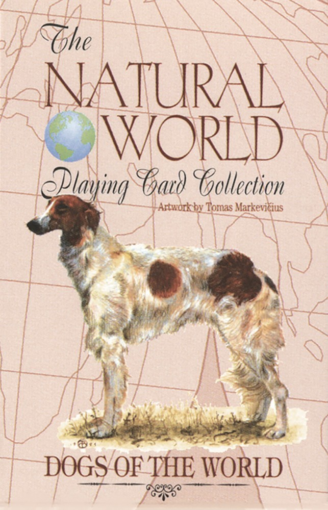 Dogs of the Natural World Playing Cards | Davis Cards & Games