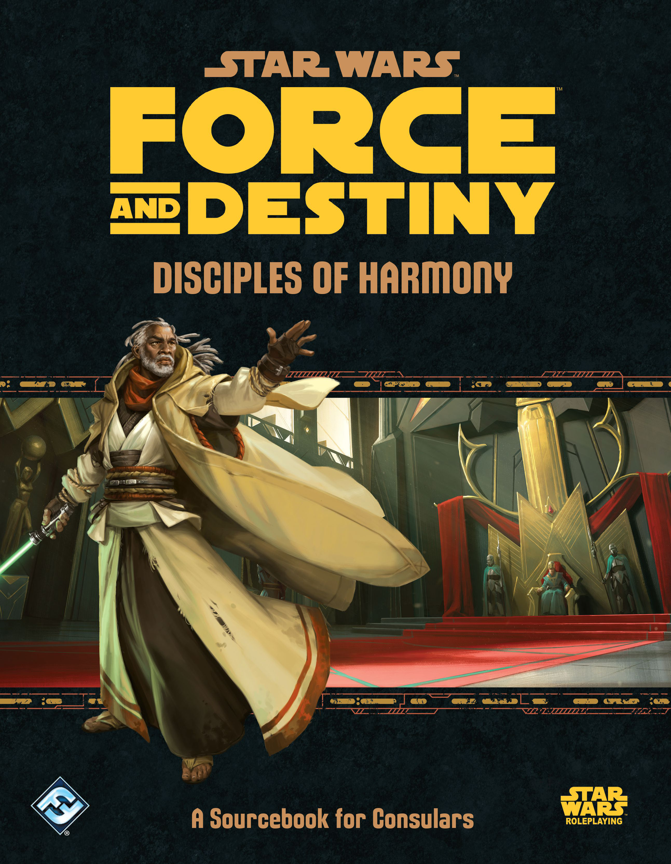 Force and Destiny: Disciples of Harmony (Star Wars RPG) | Davis Cards & Games
