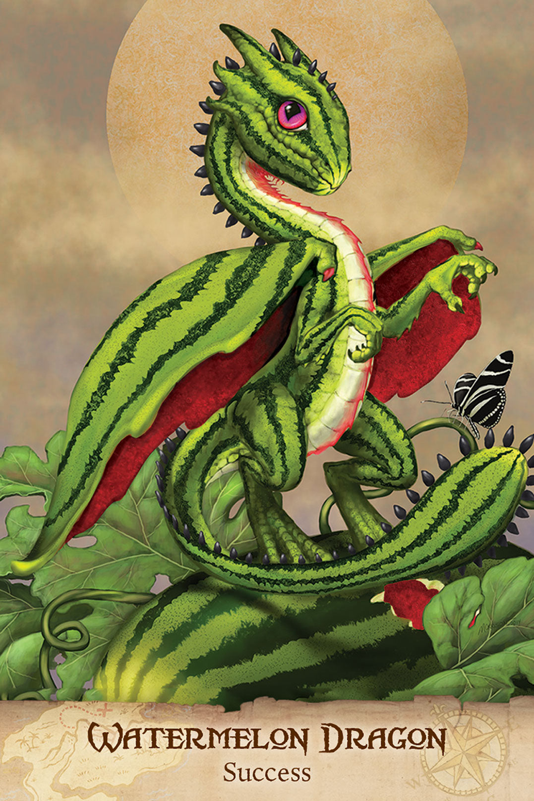 Field Guide To Garden Dragons | Davis Cards & Games