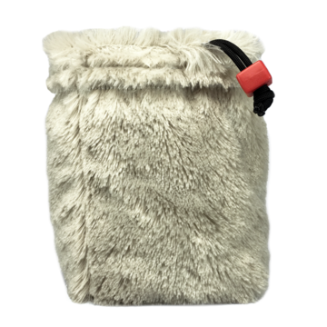 Polar Bear Fur Dice Bag | Davis Cards & Games
