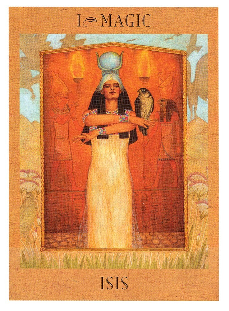 The Goddess Tarot Deck | Davis Cards & Games