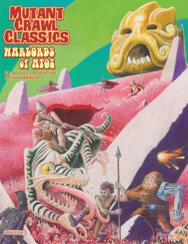 Mutant Crawl Classics #4: Warlords of ATOZ | Davis Cards & Games