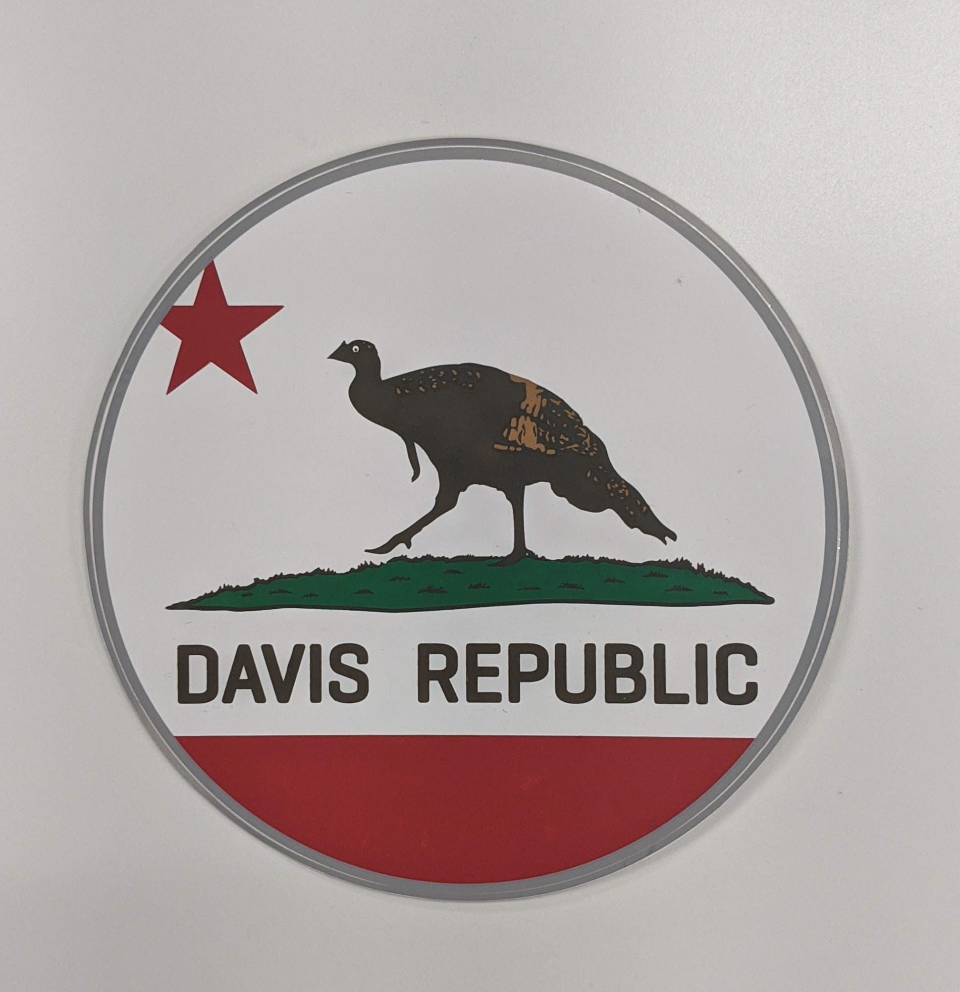 Made in Davis Stickers | Davis Cards & Games