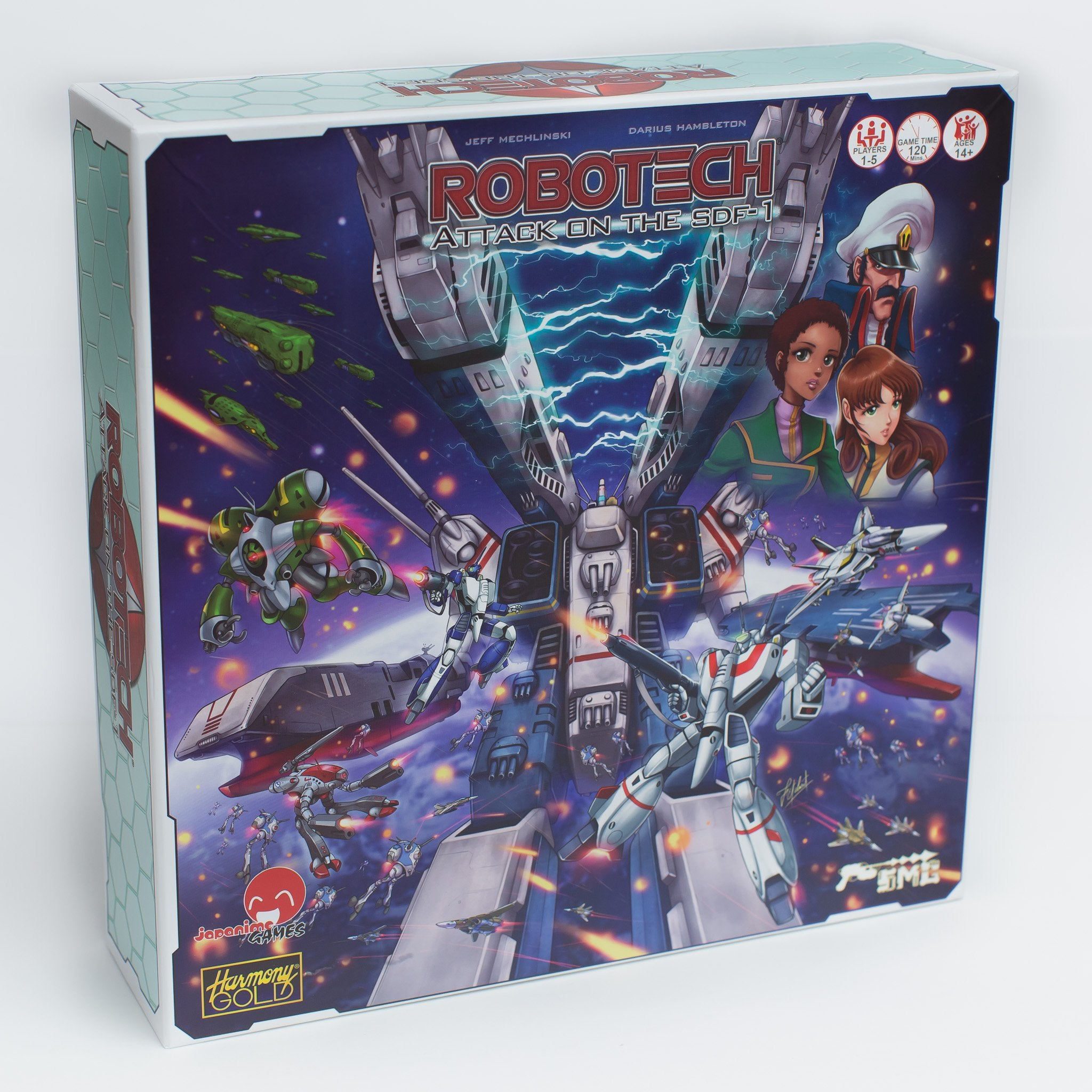 Robotech: Attack on the SDF-1 | Davis Cards & Games