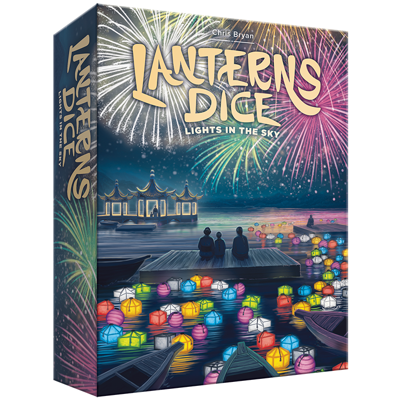 Lanterns Dice: Lights in the Sky | Davis Cards & Games