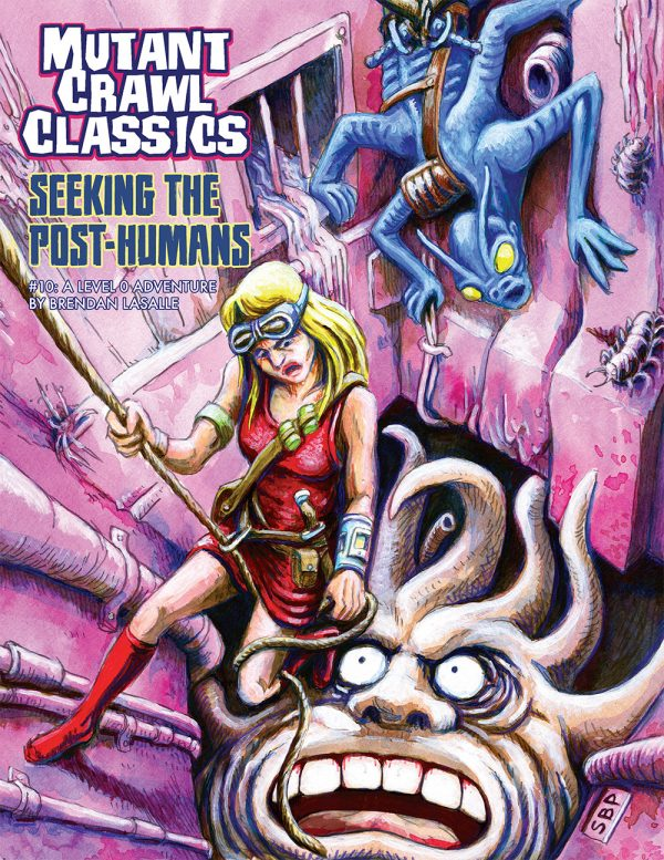 Mutant Crawl Classics #10:  Seeking The Post-Humans | Davis Cards & Games