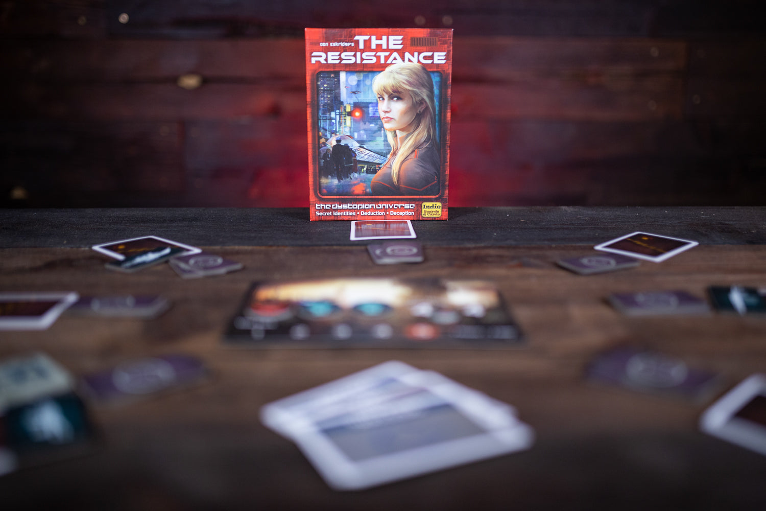 The Resistance | Davis Cards & Games