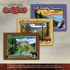 National Parks Get Wild | Davis Cards & Games
