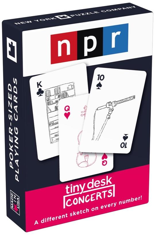 Playing Cards: npr: Tiny Desk Concerts | Davis Cards & Games