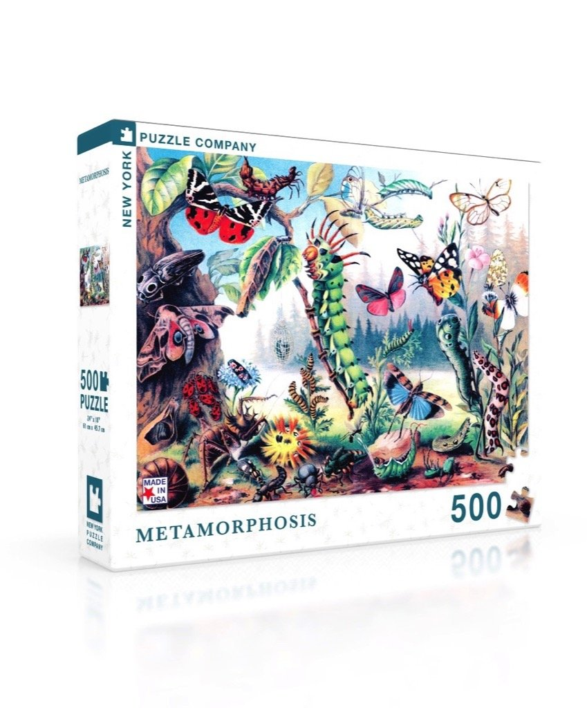Metamorphosis 500 Piece Puzzle | Davis Cards & Games